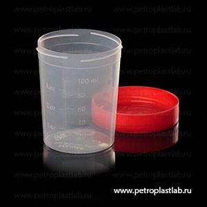 Контейнер полимерный 100мл